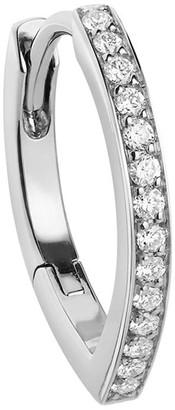 Repossi 18kt white gold Antifer diamond huggie earring