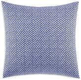 "Vera Wang Chevron Diamond Embroidery Decorative Pillow, 18"" x 18"""