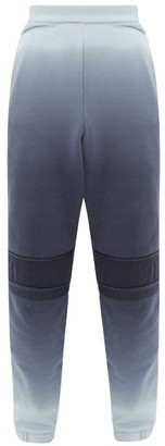Ambush Ombre Cotton-jersey Track Pants - Mens - Blue
