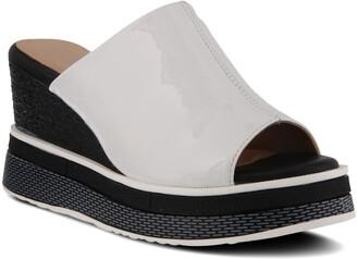 L'Artiste Allurin Platform Slide Sandal