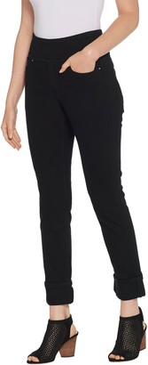 Belle By Kim Gravel Belle by Kim Gravel Flexibelle Petite Ankle Cuffed Jeans