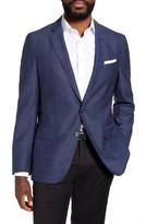BOSS Hartlay Trim Fit Solid Wool Sport Coat