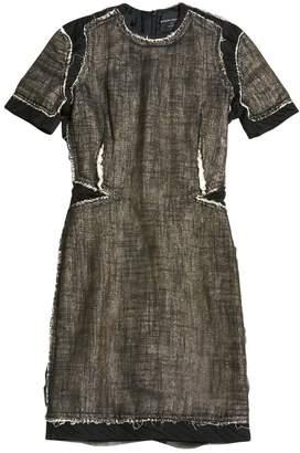Meadham Kirchhoff Black Wool Dresses