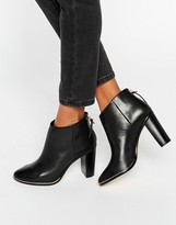 Ted Baker Lorca Leather Heeled Ankle Boots