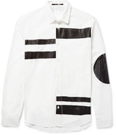 Mcq Alexander Mcqueen - Sheehan Slim-fit Coated Cotton-poplin Shirt