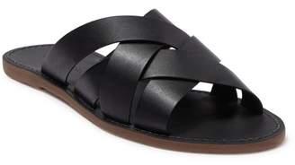 Madewell The Boardwalk Woven Slide Sandal