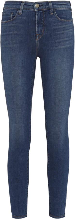 L'Agence Margot Vintage High-Rise Ankle Skinny Jeans