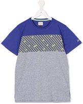 Armani Junior digital print T-shirt