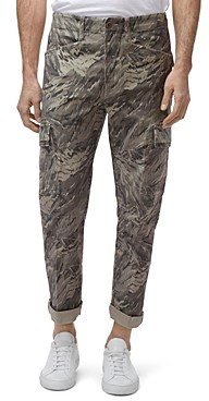 J Brand Trueper Camouflage-Print Regular Fit Cargo Pants