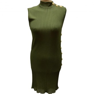 Balmain Khaki Dress for Women