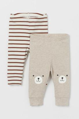 H&M 2-pack Jersey Leggings