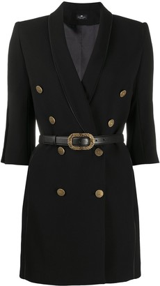 Elisabetta Franchi Belted Waist Dress