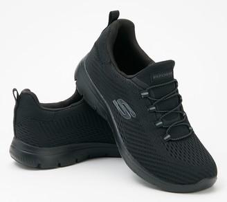 Skechers Bungee Slip-On Sneakers - Summit - Fast Attraction