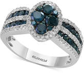 Effy Diamond Ring (1-3/8 ct. t.w.) in 14k Whtie Gold