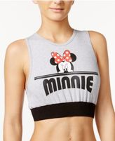 Disney Juniors' Mickey & Minnie Graphic Bra Top
