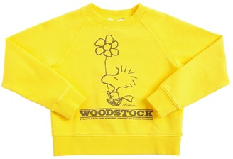 Little Marc Jacobs Peanuts Print Cotton Sweatshirt