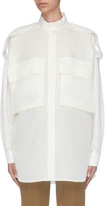 Barena 'Simona' flap pocket oversized shirt