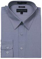 Sunrise Outlet Men's Slim Fit Basic Shirt Button Cuff - L