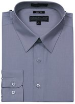 Sunrise Outlet Men's Slim Fit Basic Shirt Button Cuff - M