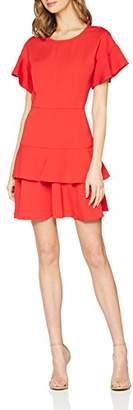 Girls On Film Clothing Women's Red Shift Dress 001, (Size:)