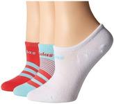 adidas Superlite Super No Show Socks 3-Pack Women's No Show Socks Shoes