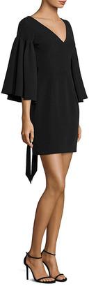 Milly Bell-Sleeve Sheath Dress