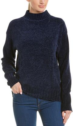 Three Dots Mock Sweater
