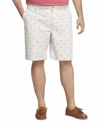"Izod Men's Big & Tall Big and Tall Saltwater 9.5"" Stretch Printed Short"