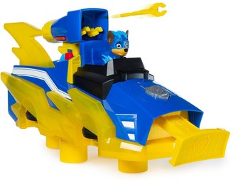 Paw Patrol Mighty Pups Charged Up Chase's Charged Up Deluxe vehicle