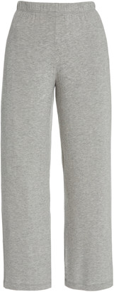 Leset Lori Stretch-Knit Straight-Leg Pants