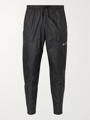 Nike Running Phenom Elite Slim-Fit Shield Shell And Stretch-Knit Running Sweatpants