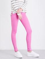 True Religion Halle super skinny mid-rise stretch-denim jeans