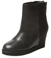 Australia Luxe Collective Whythe Leather & Wool Wedge Bootie