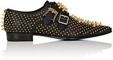 Gucci Men's Studded Leather Double-Monk-Strap Shoes