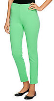 As Is Isaac Mizrahi Live! Regular Ponte Knit Ankle Pants