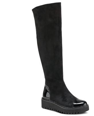 Spring Step Azura by Knee-High Platform Boots -Quappa