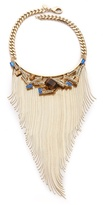 Graphic Fringe Necklace