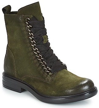 Mjus CAFE CHAIN women's Mid Boots in Kaki