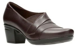 Clarks Collection Women's Emslie Warbler Leather Shooties Women's Shoes
