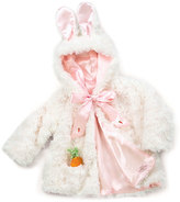 Bunnies by the Bay White Ear-Accent Cuddle Hoodie - Infant