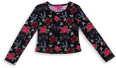 Betsey Johnson Girls 7-16 Floral Top