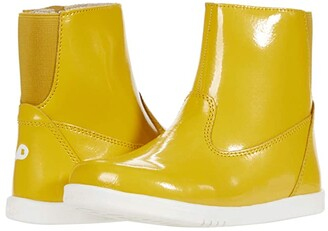 Bobux Paddington Waterproof Boot (Toddler/Little Kid) (Yellow 2) Kid's Shoes
