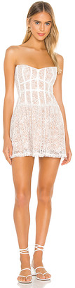 For Love & Lemons Jelena Strapless Dress