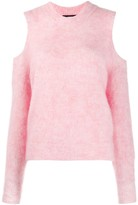 Diesel M-Lara cold-shoulder jumper