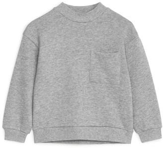 Arket Mock Neck Sweatshirt