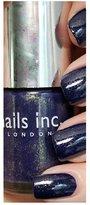 Nails Inc NEW KINGS ROAD 10ML METALLIC PURPLE BLUE by