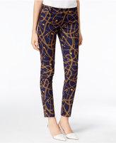 MICHAEL Michael Kors Miranda Printed Skinny Pants, a Macy's Exclusive Style