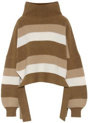J.W.Anderson Striped merino wool sweater