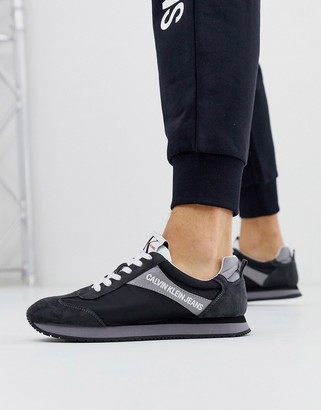 Calvin Klein Jerrold runners in black