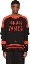 Hood by Air Black 'Dead Inside' Pullover